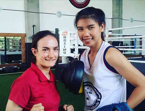 Saifah and Sylvie von Duuglas-Ittu - Muay Thai-w1400