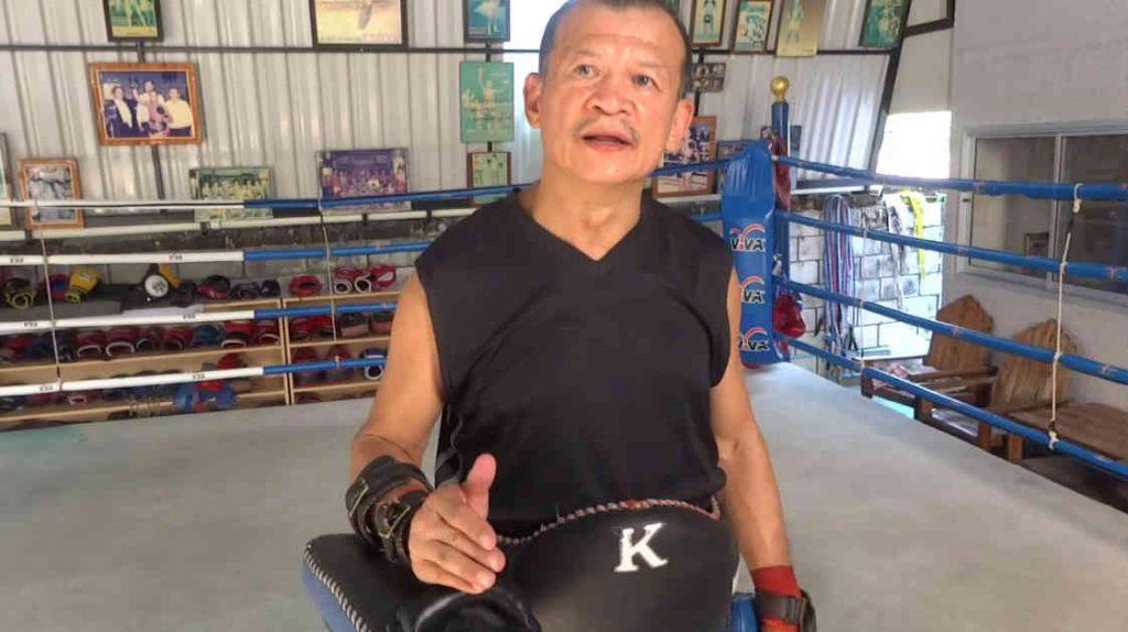 Arjan Surat - Dejrat Gym in Bangkok - Sylvie Muay Thai