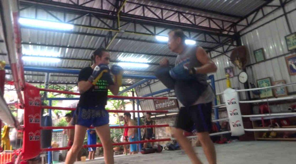 Arjan Surat - Dejrat Gym in Bangkok - Sylvie padwork