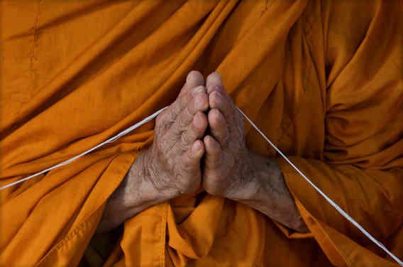 Muay Thai and serene - Buddhism