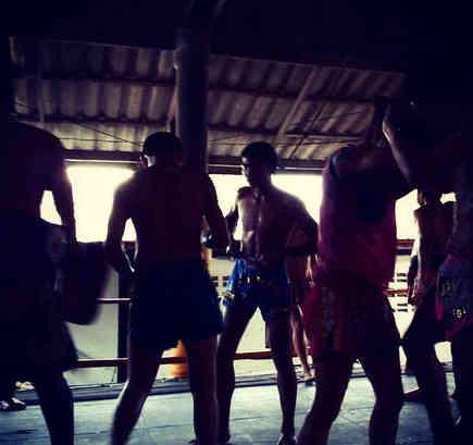 Thai Boys and Clinch - Muay Thai