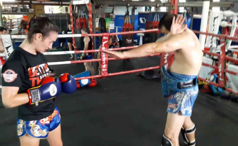 Dracula Guard position - Muay Thai