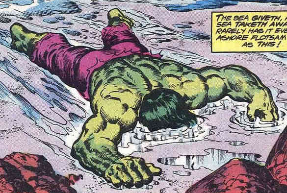 Incredible Hulk Laying Down - The Comeback