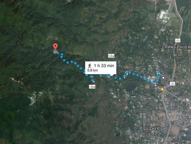 Lanna Muay Thai - Waterfall Run