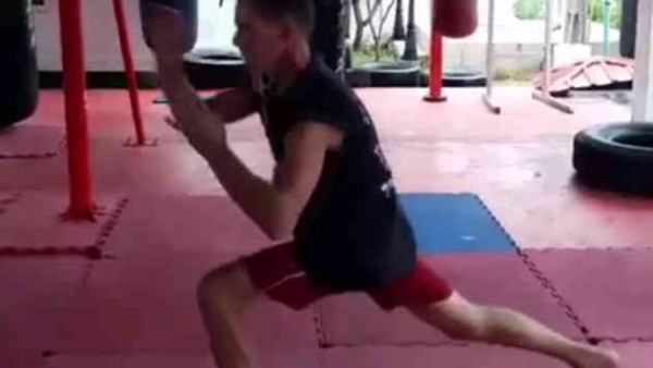 Muay Thai Lunges - Exercises for Muay Thai