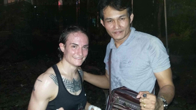 Sylvie and Pi Nu - Fighting vs Faa Chiangrai - April 23