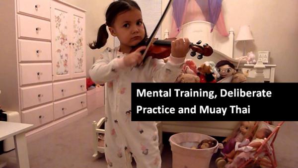 Mental Training, Violin and Muay Thai