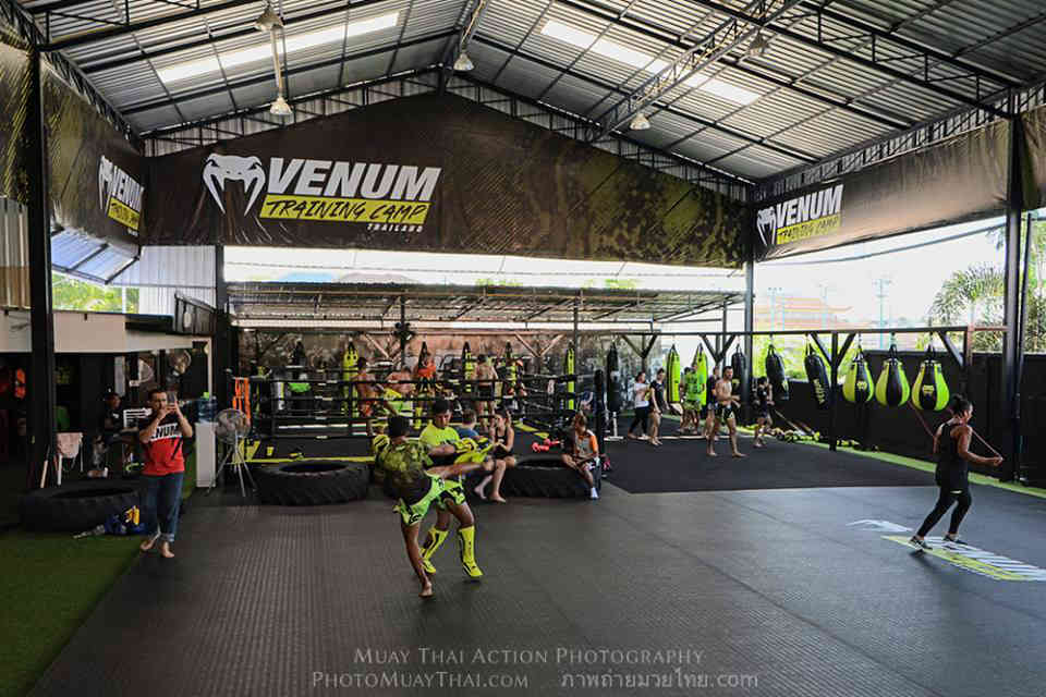 The Venum Training Camp New Gem Of Pattaya Sylvie Von