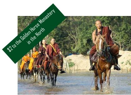 golden-horse-monastery-donation