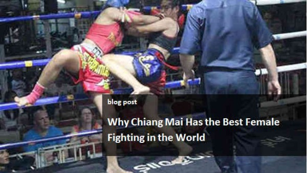 Chiang Mai Best Female Fighting in the World