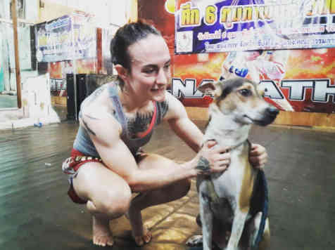 Jaidee Muay Thai Dog
