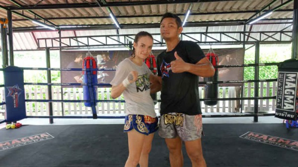 Sylvie von Duuglas-Ittu and Atttachai Fairtex