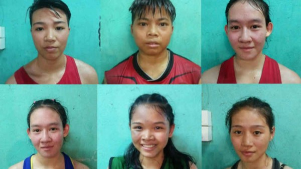 The Faces of Chiang Mai Female Muay Thai