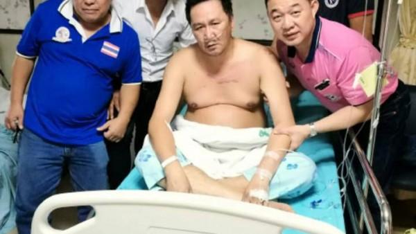 Dieselnoi at Taksin Hospital