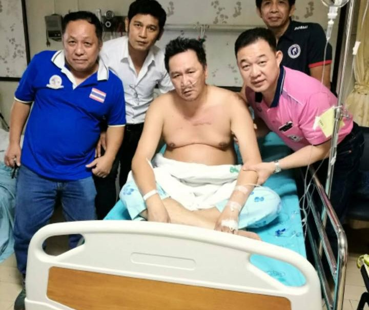 Dieselnoi at Taksin Hospital