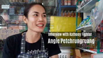 Interview with Angie Petchrungruang - kathoey fighter pattaya