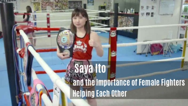 Saya Ito and Sylvie - Helping Each Other