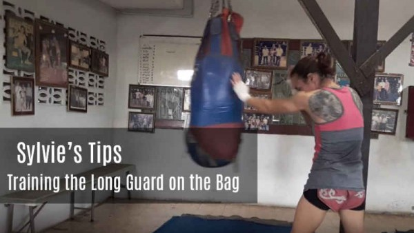 Sylvie's Tips - Training the Long Guard on the Bag