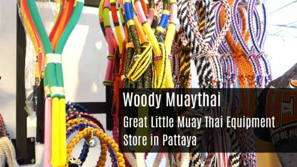 Great Little Muay Thai Equipment Store in Pattaya - Woody Muay Thai - Gloves