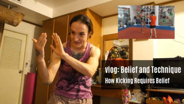 How Kicking Requires Belief - Sylvie
