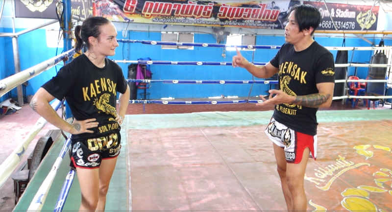 Kaensak and Sylvie Training session clip