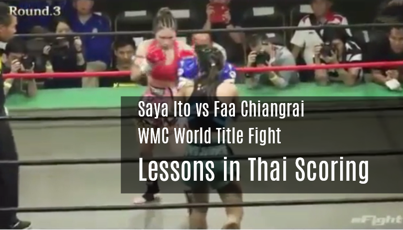 Lessons in Thai Scoring - Saya vs Faa