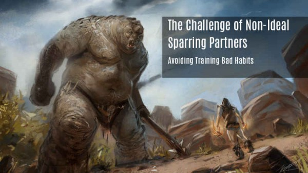 The Challenge of Non-Ideal Sparring Partners