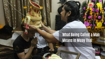 What Being Called a Man Means in Muay Thai