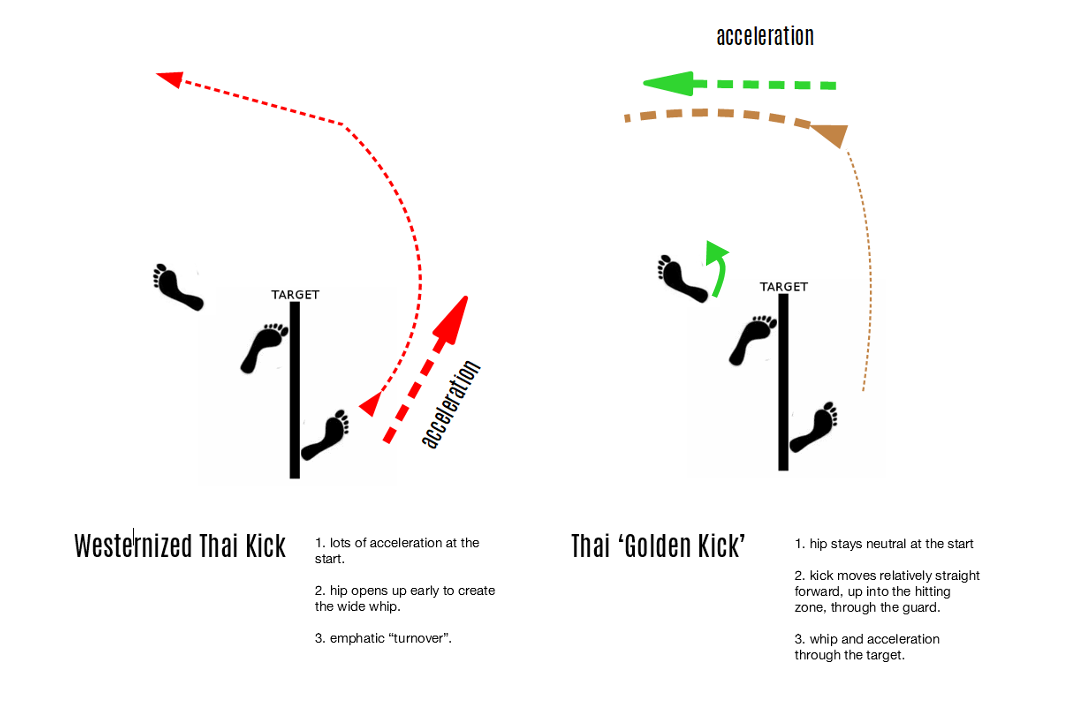 Thai Golden Kick Graphic