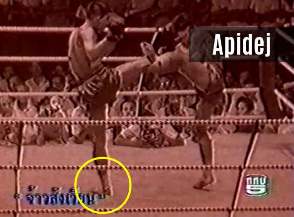 The Golden Kick - Apidej