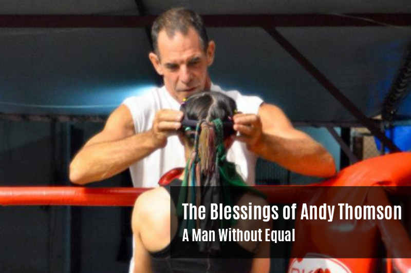 Blessings of Andy Thomson Mauy Thai