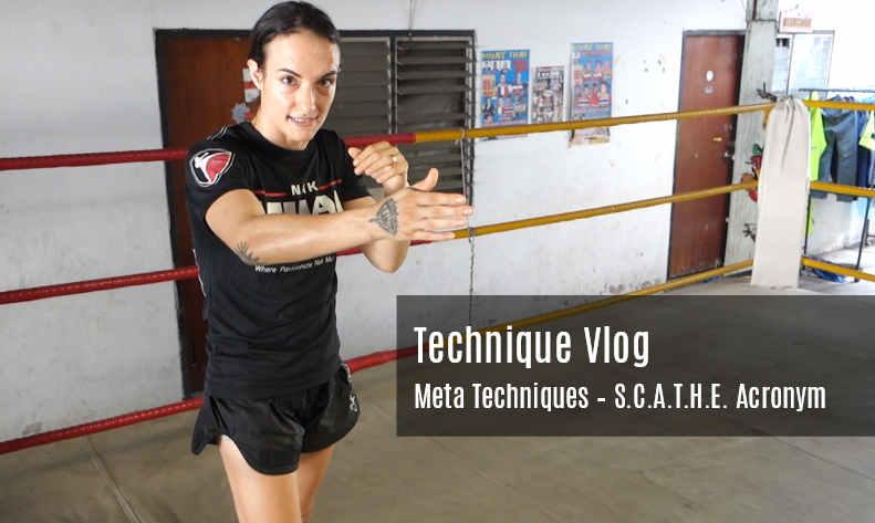 SCATHE Acronym - Muay Thai Techniques Vlog