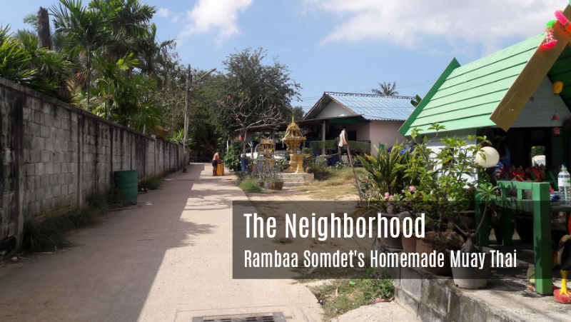 The Neighborhood - Rambaa's Homemade Muay Thai