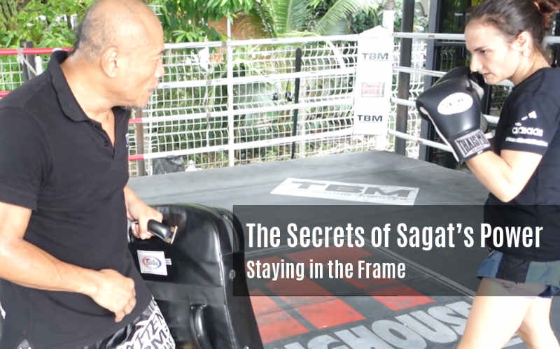 The Secrets to Sagat's Power - Staying in the Frame video