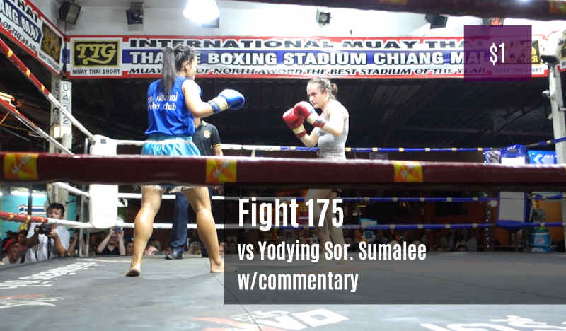 Sylvie Petchrungruang vs Yodying Sor Sumalee - Fight 175 - one dollar