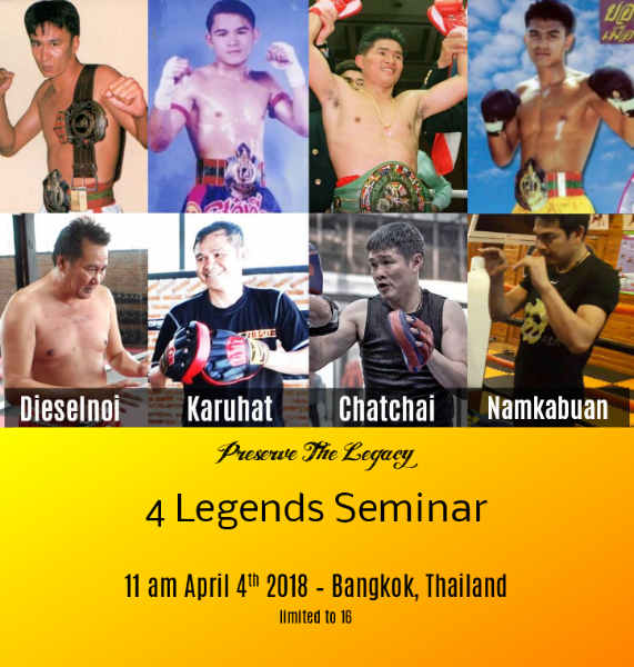 4 Legends Seminar
