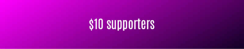 10 dollar supporters