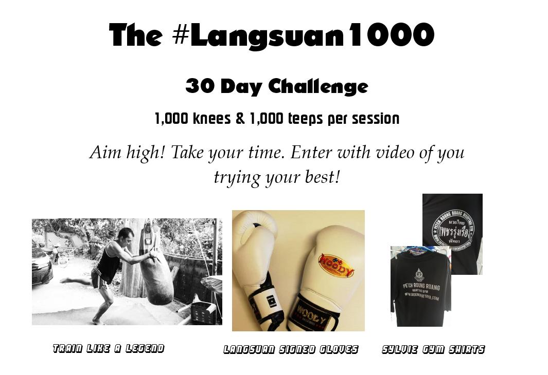 The Longsuan1000 Challenge