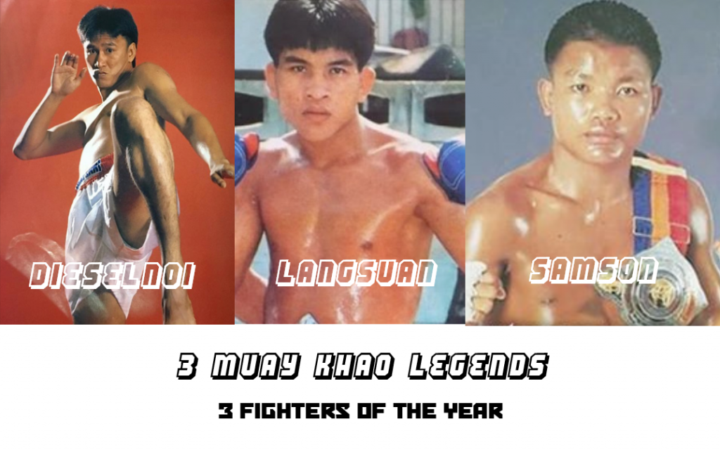 3 Muay Khao Legends