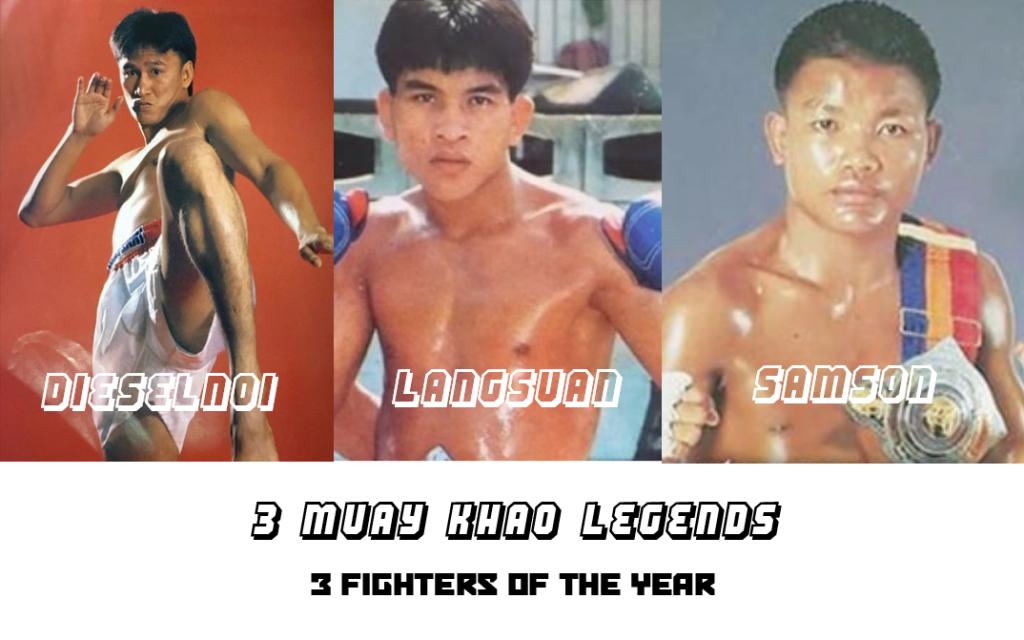 3 Muay Khao Legends