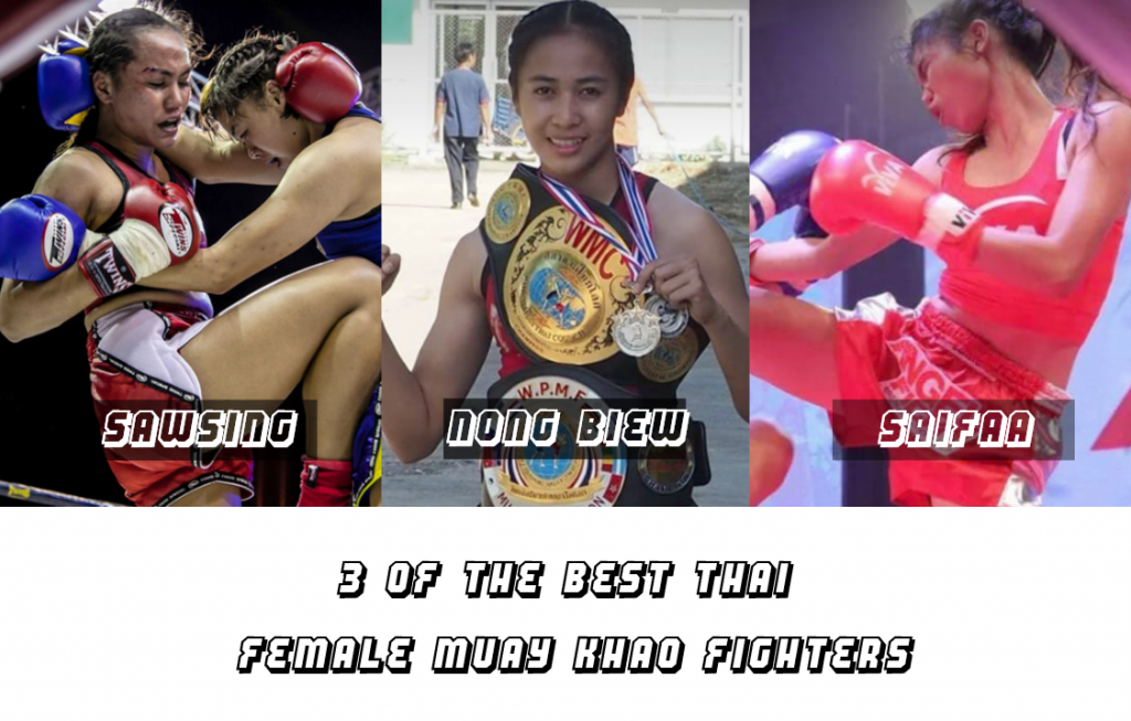 3 of the best Muay Khao fighters in Thailand