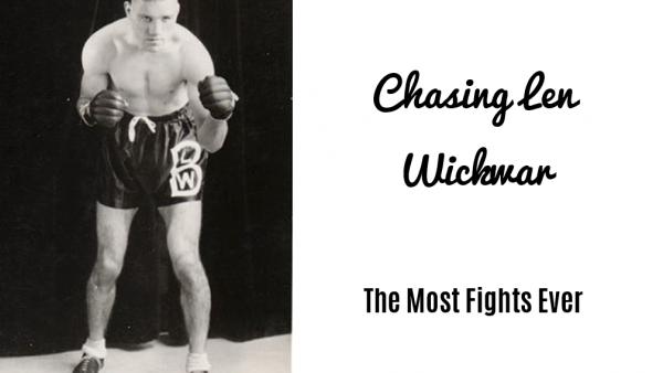Chasing Len Wickwar
