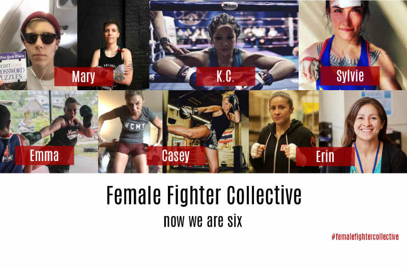 Female Fighter Collective red