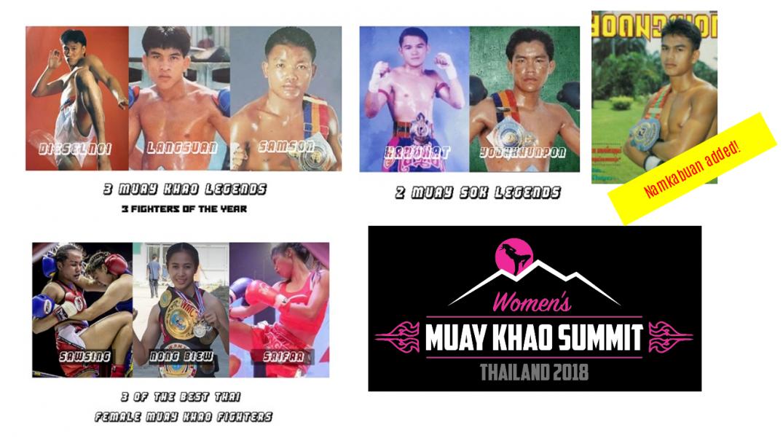 Namkabuan and Muay Khao Summit