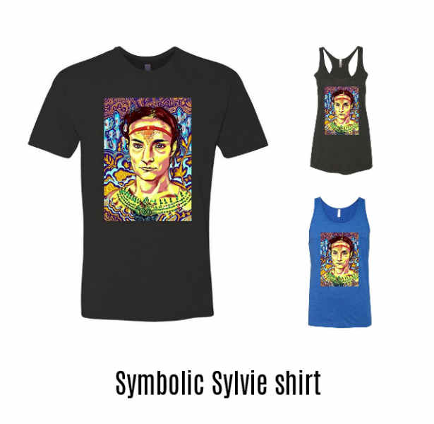 Symbolic Sylvie shirts for sale