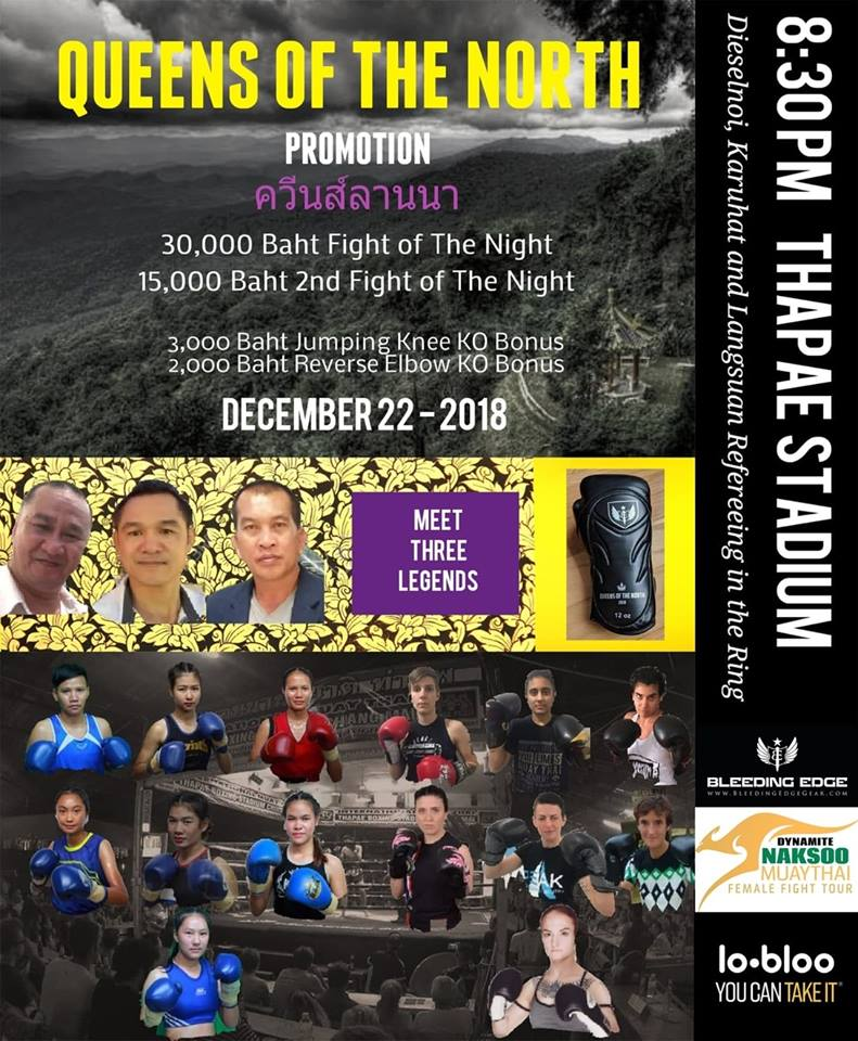 fight card - Muay Khao Summit