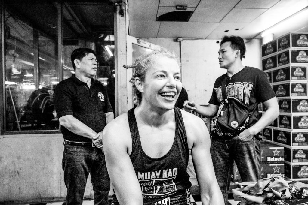 Tara Post Fight - Smile