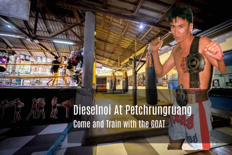 Come and Train with the GOAT - Dieselnoi