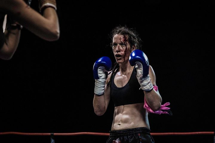 Women's War Face: the Bloody Female Fighter Face – New Beauty